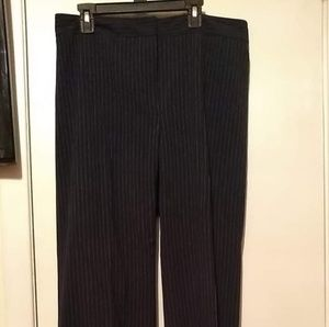 The Limited Navy Pinstripe pants